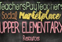 Upper Elementary TpT Resources