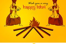 Happy Lohri - HashTAGit / Happy Lohri - HashTAGit