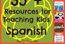 Teaching Spanish / Resources for teaching and learning Spanish. Because I used to teach Spanish (and French) and now I am trying to teach my kids.