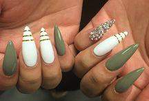 Disegni unghie stilett