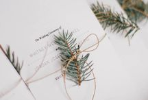 Winter Wedding / Winter Wedding, Wedding Decor, Pine cone, Fir Trees, Snow, Winter, Wedding