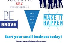 Socratic SBC - Small Business Consulting  / Socratic SBC is a small business consulting firm, that helps independent and small business to start up right in the market with marketing plan package, Business package, graphic design package, logo creation as well as website creation. For the most affordable price you will ever see in the market today! Contact us today and get a free quote. We are here to provide small business a ladder to success. So you can focus on what you do best!