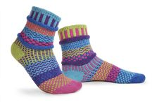 Solmate Socks / Multipatterned and colorful mismatched socks
