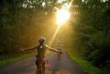 Heaven on bike