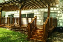 Alamo Handyman ~ Outdoor Spaces / We can create a beautiful out door space for you that will give you an awesome entertainment area or just a great place to relax. Call us with your ideas and we will make it happen for you! www.alamohandymantx.com