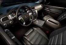 truck interior / by Michael Sansagraw