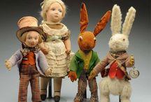 Dolls...Dean's rag dolls,bears