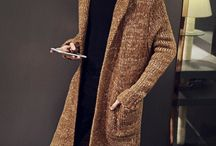 Knitted Mens Cardigan