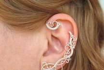 boucles d'oreilles elfiques