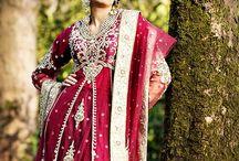 Asian Bridal Fashion / Bridal Fashion shoot for Poshaak