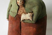 Anna Sophie Gillioen Schulpturen, Robert Carpon ceramiek, Victoria Rosé Martin ceramiek