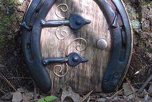 Fairy doors.