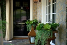 light fittings & front door