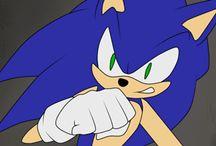 shadow x Sonic