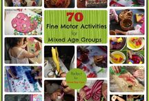 Occasional Care ideas / activities for mixed age care