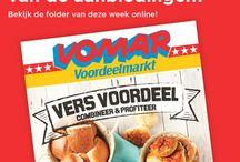 Onze folder / Onze wekelijkse folder met de beste en meest actuele aanbiedingen van Vomar Voordeelmarkt!