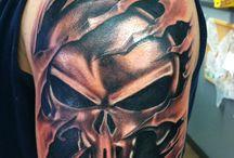 Punisher - tattoo