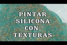 silicona con textura