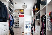 Family wardrobe / Communal closet