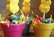 Easter baking and Decor