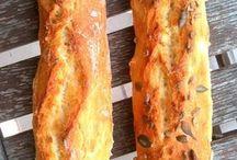 Pains / baguettes / brioche