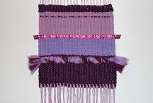 Knitting_club_o2 Weaving / Ткачество / Работы в технике ручного ткачества: тканые шарфы и палантины, настенный декор (современные тканые ковры / панно), костеры (подставки под горячие кружки)