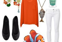 Finding Nemo themed fashions