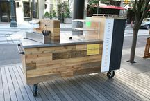 Coffee cart / Portable coffee stands
