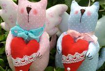 "Tilda toys / Tilda toys - handmade textile toys, made in the style of ""tilde"". View - http://arthandmade.net/catalog/igryshkivstiletilda"
