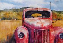 Old Trucks / Ou trokke