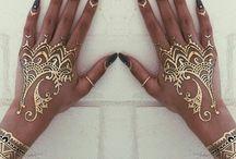 gold henna