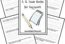 Homeschool: Handwriting