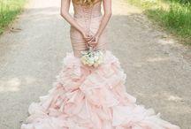 Pink Wedding Gown / Pink Wedding Gown