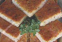 Bramborová buchta+jídla z brambor a cukety