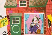 Vintage kid's illustration