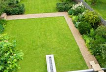 Town Garden / Ideas for a large low maintenance town garden
