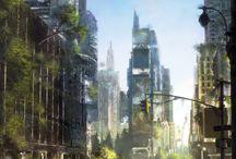 post apocalyptic setting