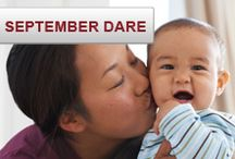 We Dare You: September Dare / We Dare You to share a photo of what's close to your heart… a person, a cause or what inspires you for a chance to win a $400 gift card! wedareyoutoshare.com / by Source4Women