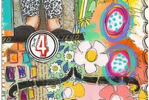 Art Journaling & Mixed Media / Art journaling, collage and mixed media inspiration.  / by Kate Hadfield