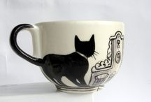 mugs ° teacups & kettles / by Amber Bigley