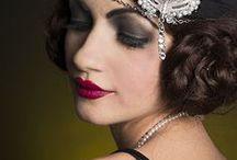 Dawn Ellison / 1920s, 1940s and 1960's makeup