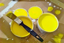My canary yellow stools... / The story of the making of my canary yellow stools... / by ScrapHacker