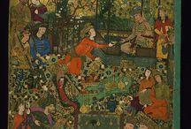 Art, graphics, ilustrated manuscripts