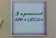AP uh LATCH uh / by Lippa Lulu