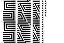 черно-белые жгуты