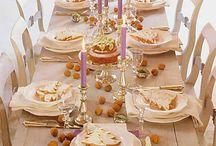 Dinner Table Decor