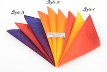 Jin's handkerchiefs / handkerchiefs or what we call 'pocket square'