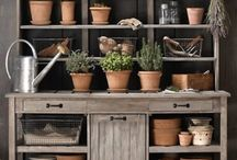 Garden stol