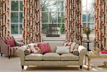 Juneau Collection / The beautifully fresh colour combinations in the Juneau collection are complemented by classic damask and striped wools
