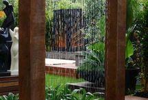 vann i hagen